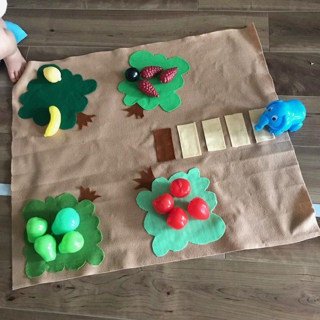 3歳から遊べる初めてのボードゲーム果樹園ゲームを手作りしてみた!ダイソー100均を活用してすぐ出来る知育ゲーム